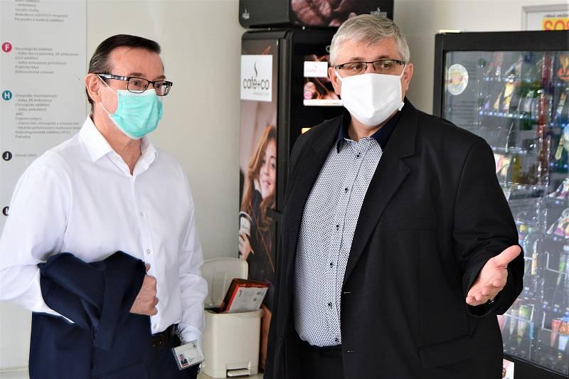 Klaudiánova nemocnice má nově termokameru