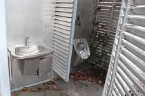 Veřejné toalety v Mladé Boleslavi, Výstaviště