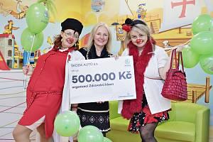 Automobilka Škoda Auto prodloužila partnerství Zdravotnímu klaunovi.