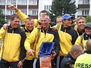 Vyhlášení vítězů MČR v požárním sportu