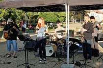 Z jazzového koncertu Janovec Jazz Band v Mladé Boleslavi