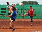 Okresní soutěž nohejbalu: Helada Kolomuty - Brodce