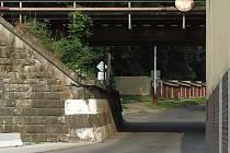 Podjezd bude bezpečnější pro chodce a cyklisty