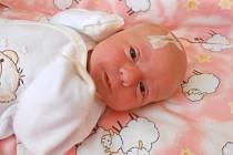 BARBORA Fišerová se narodila 10. května, vážila 3,22 kilogramů a měřila 49 centimetrů. S maminkou Michaelou a tatínkem Janem bude bydlet v Kosmonosech.