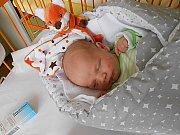 Patrik Jech se narodil 4. března, vážil 3,4 kg a měřil 48 cm. S maminkou Radomilou a tatínkem Lukášem bude bydlet v Sudoměři.