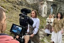 3. natáčecí den štáb zamířil na Bezděz