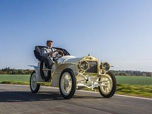 Škoda Muzeum představuje sportovní vůz z roku 1908