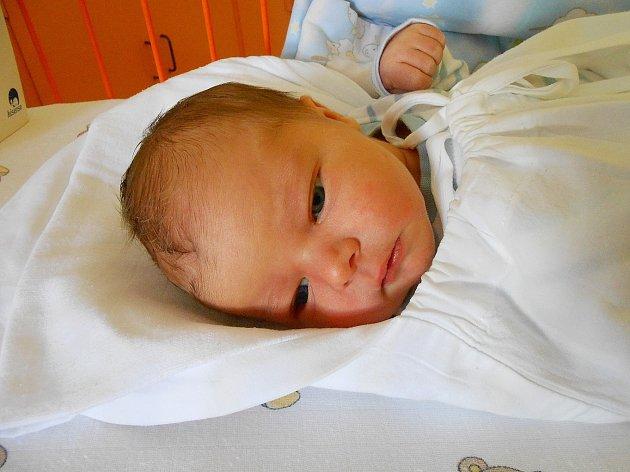 František Lamač se narodil 20. září, vážil 3,71 kg a měřil 51 cm. Maminka Petra  a tatínek Antonín si ho odvezou domů do Milovic.