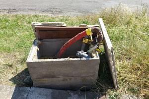V Semčicích došlo k úniku plynu.