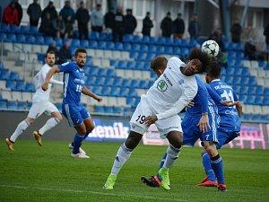 Fotbalisté Mladé Boleslavi ve čtvrtfinále MOL cupu vyřadili Baník Ostrava po penaltách.