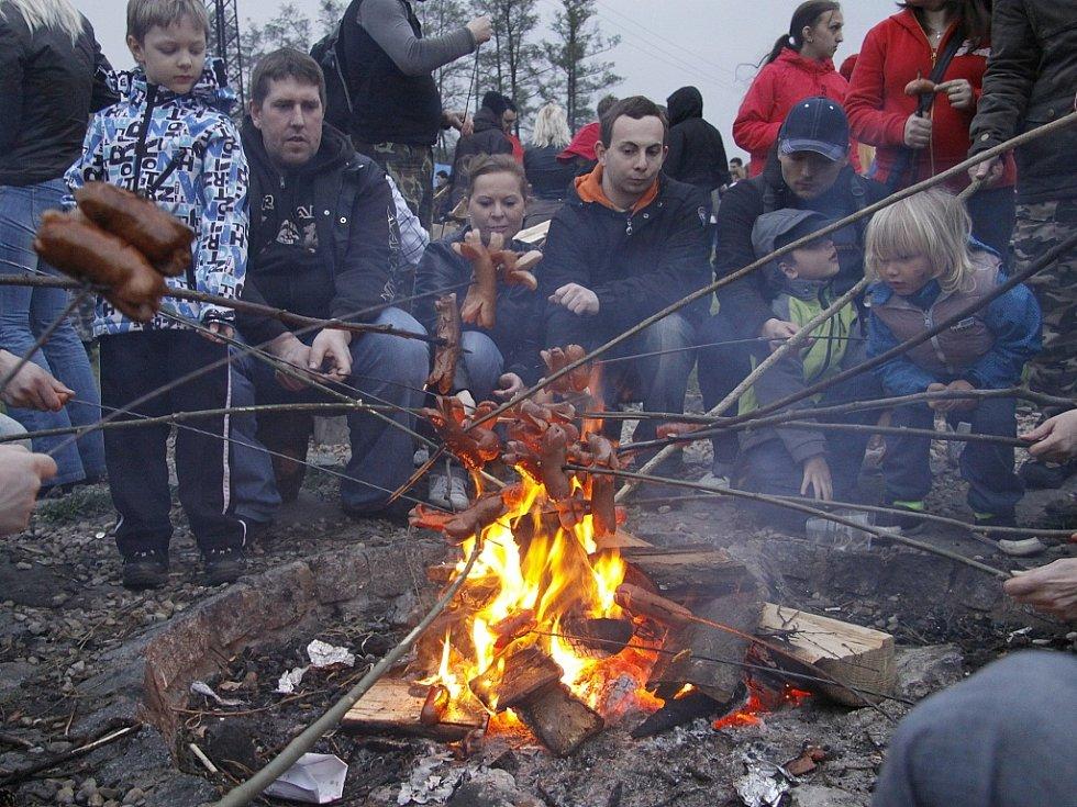 Pálení čarodějnic v Mladé Boleslavi 2013