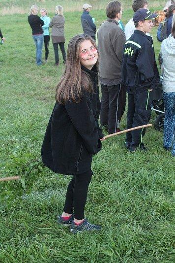 Pálení čarodějnic na Branžeži.