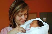 Erika Žulkevičová z Bakova nad Jizerou 14. prosince v turnovské porodnici přivedla na svět dceru Zuzanku (3,3 kg a 49 cm).