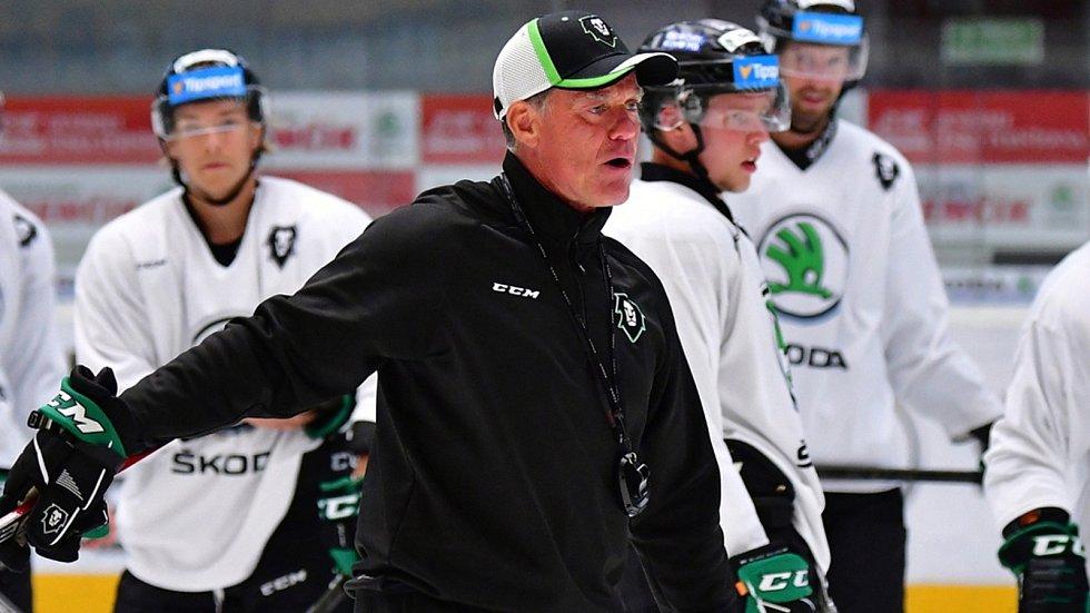 Hokejový trenér BK Mladá Boleslav Radim Rulík.