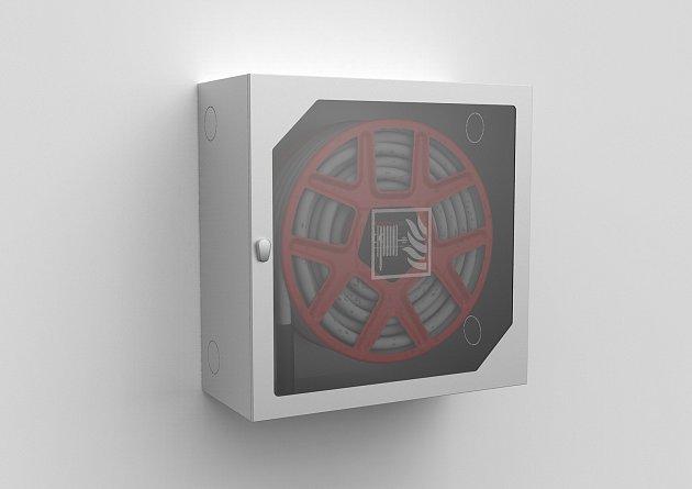 Hydrantový systém vnovém designu zprodukce společnosti Montana.