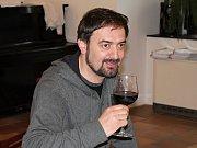 Cyrano z Bergeracu, zahajovací zkouška v Templu. Petr Halíček, představitel hlavní role.