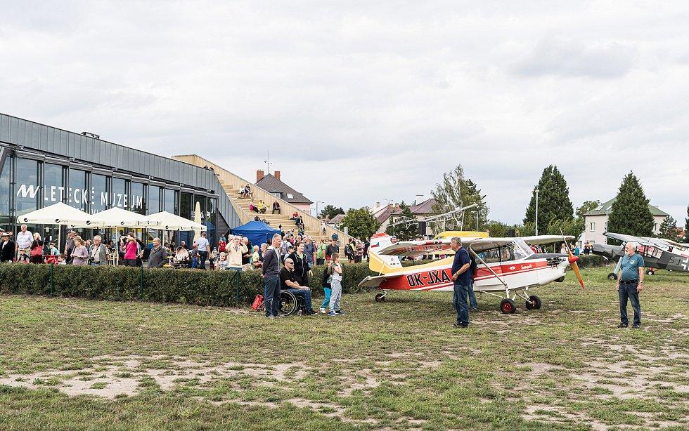 Letecké muzeum Metoděje Vlacha.