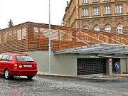 Parkovací dům.
