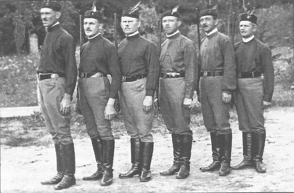 Sokolové ze Sušna ve 20. letech.