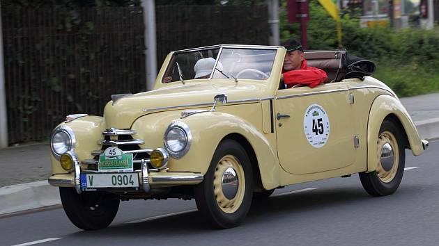 Historické vozy z mladoboleslavské automobilky se zúčastní Sachsen Rally