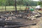 Spálené úly v Bradlci