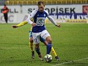 FORTUNA:LIGA - Teplice (ve žlutém) podlehly doma Boleslavi 0:2.