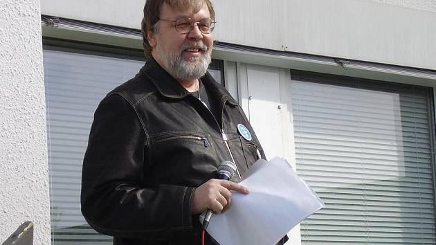 Předseda odborářů Jaroslav Povšík