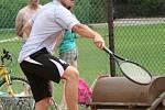 Fotbalisté Kněžmosta hráli tenisový turnaj