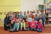 Prvňáci MB - ZŠ Mnichovo Hradiště 1. první třída