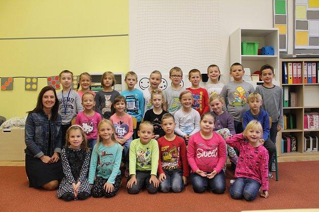 Prvňáci MB - ZŠ Mnichovo Hradiště 1.první třída