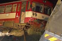 ilustrační foto - nehoda vlak