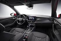 Blíží se premiéra modelu Kamiq, Škoda ukázala první fotografii interiéru vozu.