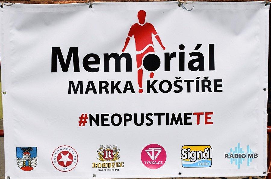 Memoriál Marka Koštýře.