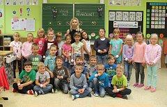 1.B Základní škola Sokolovská Mnichovo Hradiště, třídní učitelka Silvie Berežná