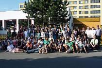 Zahraniční návštěva na základní škole v Bělé pod Bezdězem