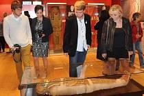 POKUD SE ZÁMĚR podaří, návštěvníci si na unikátní expozici budou moci prohlédnout i dochované mumie.