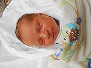 Ladislav Chalupa se narodil 10. prosince, vážil 3,33 kg a měřil 50 cm.