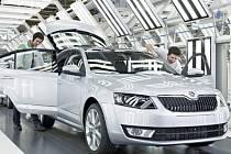 Výroba nové octavie zahájena - Škoda Auto 2012