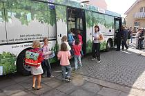 Představení nového autobusu Scania na bioethanol E85