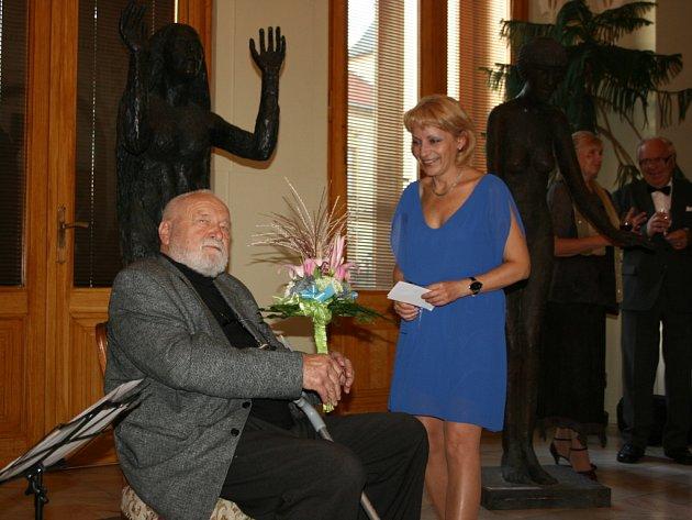 Výstava sochaře Olbrama Zoubka v Mladé Boleslavi