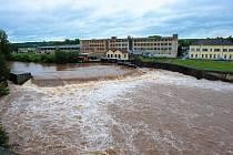 Velká voda na Mladoboleslavsku, červen 2013