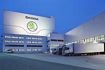 Škoda Parts Centrum - nové sklady