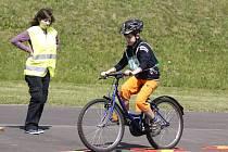Okresní kolo soutěže mladých cyklistů 2013