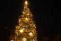 Rozsvícení vánočního stromu v Mnichově Hradišti.