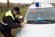 Strážníci Městské policie Bakov nad Jizerou si posvítili na dodržování rychlosti ve městě.