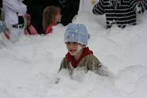 Dětský den aneb Vánoce v červnu v Olympii.