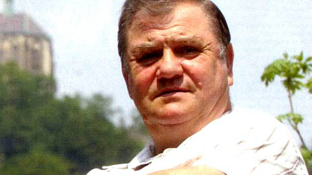Trenér boleslavských boxerů Petr Sommer.