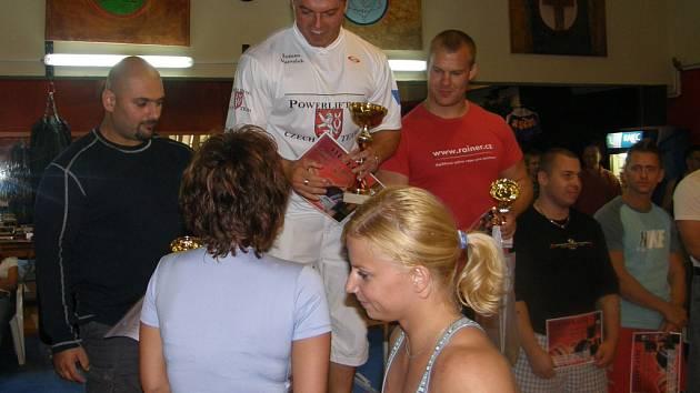 Boleslavák Roman Maršálek stanul na nejvyšším stupínku vítězů v kategorii do 100 kg.