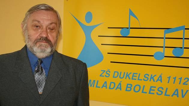 Odovlaný ředitel 5. základní školy v Dukelské ulici v Mladé Boleslavi Jiří Ulrich.