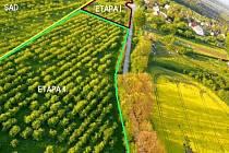 Záměr rozvoje ekologické vesničky v Sychrově.